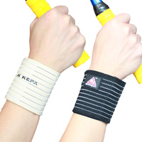 Professional wrist support elastic bandage sports protective clothing spirally-wound badminton wrist length