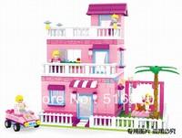 Ausini Princess House 24805 Building Blocks Sets 501pcs Legoland Educational DIY Bricks Toys For Children