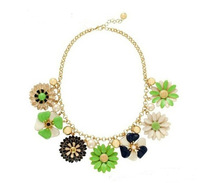 New Fashion Design Amazing Flower Statement Necklace For Women Free Shipping