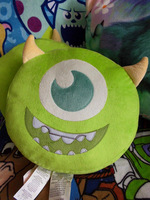 Monster mic mike pillow cushion