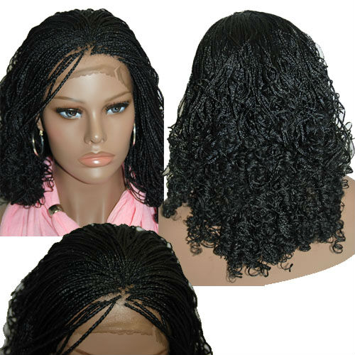 Hand Braided Lace Front Wigs