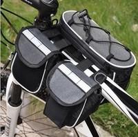 2013 New 4 IN 1 Multi-function Bike Bicycle Bag  saddle bag Free Shipping