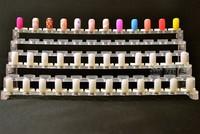 Ring Color Card 100pcs/lot nail finger Template nail tips for nail polish bottle,uv gel bottler best for exhibition of colors