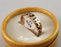 Leya  12pcs 6mm Rose Gold Polished High quality Comfort Stainless Steel Rings Fashion Jewelry Free Shipping