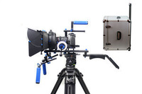 Professional Camera Rig Supports DSLR Rig Rigs Video Shoulder Camera Mount Support System Stabilizer Follow Focus