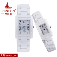 Ceramic ladies watch white lovers watch female male watches fashion watches for both man and women free shipping