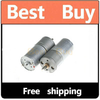 Pair of 12V 300RPM Gear Motors (X2) 5 pieces / lot