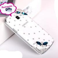3D Ballet Bling Crystal Diamond Hard Case Cover Skin For Samsung GALAXY Premier I9260