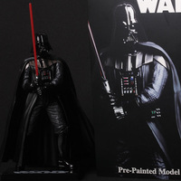 Top Quality Product Star Wars Darth Vader 20cm Action Figure Toy Soldiers Pre-Painted Model Kit Free Shipping