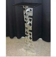 Magic high quality aluminium alloy folding table magic table magic prop