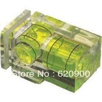 100% GUARANTEE Camera Flash Hot Shoe Spirit Level Double 2 Axis Bubble 5D 7D 40D 550D 600D