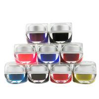 Colored glaze nail art glue phototherapy plastic color uvgel transparent gel chromophous h046 12 color/set 10g/bottle