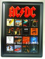 30*40CM AC/DC Album Hard Rock Band Australia Poster Wall Decor Bar Decor Metal Tin Painting Pub Metal Painting