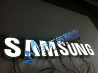 SUMSUNG galvanized sheet epoxy resin led letter signs/Outdoor advertising/Indoor decoration
