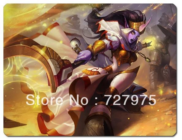New Arrival Celestine Soraka Skin Mouse Pad 275*225*5 Free Shipping(China (Mainland))