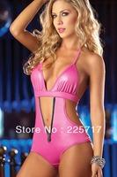 free shipping new chic 2013 ladies' victoria sexy brand swimsuit push-up halter-style zipper women's bikini swimwear S13048