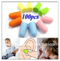 Foam Earplug Ear Plug Keeper Soft Protector Travel Sleeping Noise Reducer 50 Pairs