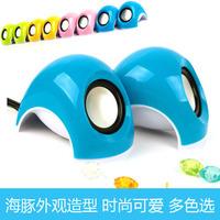 068 usb2.0 cartoon speaker mini portable laptop desktop mini speaker small audio