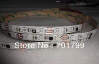 5m DC12V 48leds/m 16pcs ws2811 ic/meter(16pixels) led digital strip;IP65;waterproof by silicon coating