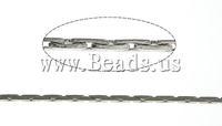 Free shipping!!!Brass Boston Chain,2013 Fashion, platinum color plated, nickel, lead & cadmium free, 0.60mm, Length:100 m