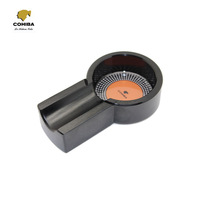 COHIBA Black Mini Titanium Alloy Cigar Tobacco Cigarette Ashtray Holder
