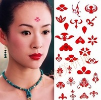 Tattoo stickers waterproof female costume applique