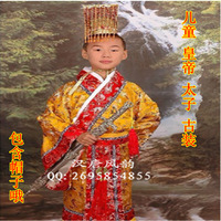 Child costume hanfu child costume stage clothing clothes