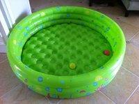 Free Shipping Intime Plastics 150cm Fish Family Swimming Pool Inflatable Pool Summer Baby Swimming Pool Kids Bathing Tub