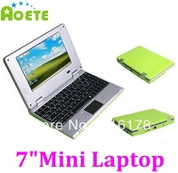 "7"" Android 4.1 WM8850 Mini Laptop Notebook PC 4GB with Camera 5 Colors available Wholesale From Aoete"