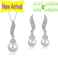 2013 New Arrival factory wholesales 18KGP William Kate Queen wedding Pearl Pendant Chains Necklace chocker fashion jewelry 2891