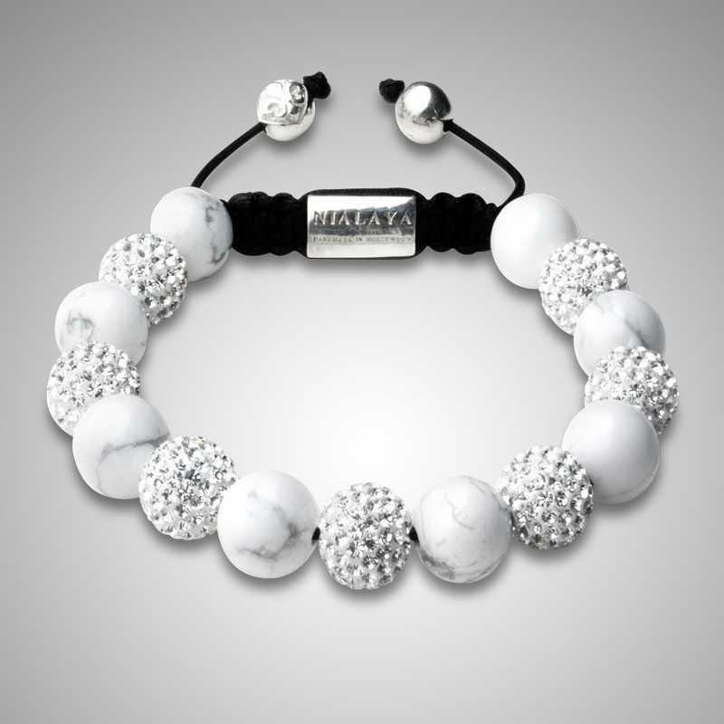 Gemstone Shamballa Bracelet Lady Bracelet Shamballa