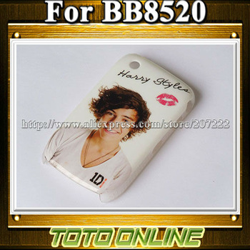 Fashion Super Boy JB Justin bieber Phone Cover 1D One Direction Cases For Blackberry 8520