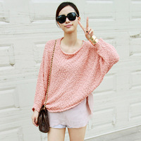 sweaters 2013 women fashion long bat sleeve plus size xxxl women clothing