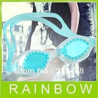 200pcs/lot RA Swimming Swim Goggles Waterproof Anti-fog Glasses For Water Swimming Goggles Free Shipping