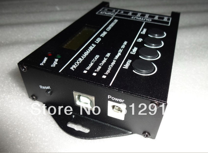 TC420;Programmable time led controller;can customize schedule mode by PC with USB port(China (Mainland))
