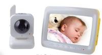 Free shipping 7 inch Digital wireless baby monitor Intercom baby monitor with Night Vision
