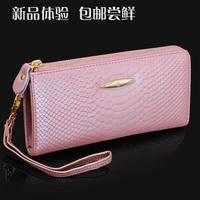 Free shipping for Paul women's knight long design wallet fashion vintage all-match zipper women's bag