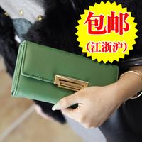 Free shipping for 2013 wallet female ol cross long design women's wallet wallet clutch
