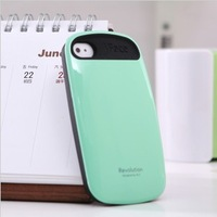 Retail and Free shipping iFace 2 Revolution silicone case for iphone4 4s