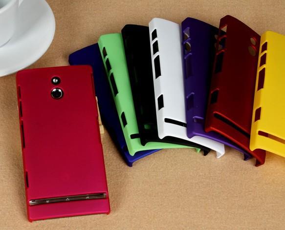 Чехол для Sony Ericsson Xperia P LT22i, гибридный жёсткая в + 10 цветов доступны + жк-дисплей экран протектор телефон в екатеринбурге sony ericsson pley в екатеринбурге