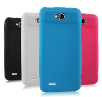 For ZTE Grand X Quad ZTE V987 TPU Soft Gel Cover Case + Free V987 Screen Protector