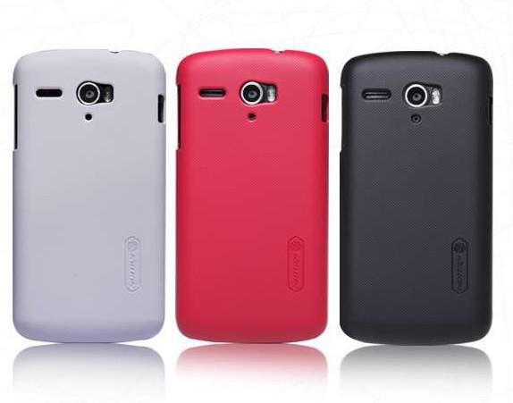 Huawei U8836D Case ,Nillkin Supper Matte Hard Case For HUAWEI G500 Pro U8836D +Free Screen Protector(China (Mainland))