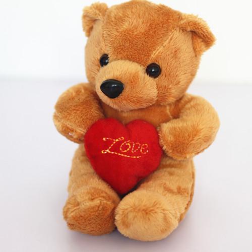 Love the bear doll plush toys wedding dolls car furnishing articles doll birthday gift(China (Mainland))