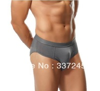 High Quality Hot Selling Modal sports male breathable panties male briefs pants man underwear briefs Free shipping
