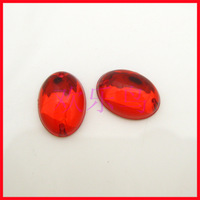 Fashion glossy transparent acrylic oval sistance of diy sew-on clothes diamond beads 10