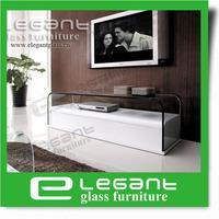 2013 Modern Hot Bending Glass TV Stand/High Gloss MDF TV Cabinet -CM009