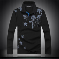 The new 2013 long sleeve T-shirt plus-size fertilizer eight large size T-shirt model 003 free shipping