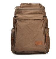 women Mens Vintage Canvas Hiking Travel Backpacks Messenger laptop big Bag Top Quality Free Shipping