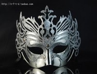 Free Shipping Luxury Venetian Masquerade Ball Cosplay Halloween Party Masks Antique gold dust mask ball improper face mask