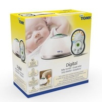 Tomy baby monitor TD300 digital temperature measuring with two-way intercom bebes safety 2013 new arrival